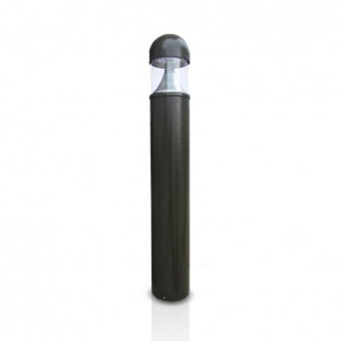 Balise sur pied LED ronde extérieure cadre gris, 35W
