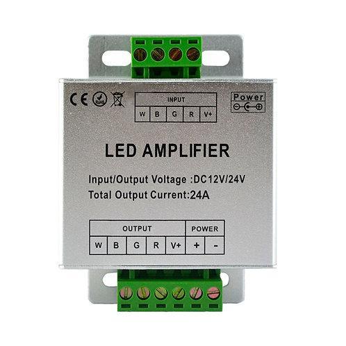 Amplificateur pour bandeau LED RGB, 288W, 12V DC, 18A