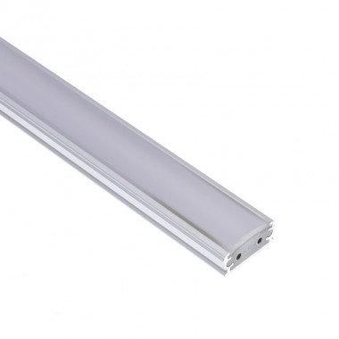 Profilé translucide avec ruban LED Aretha 9W, dimmable