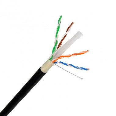 Câble UTP catégorie 6 extérieur, en cuivre / aluminium