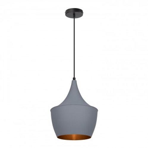 Lampe suspendue vintage grise