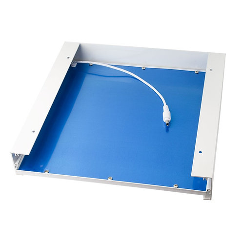 Kit d'intégration en saillie pour dalle LED 300x300mm, finition blanc