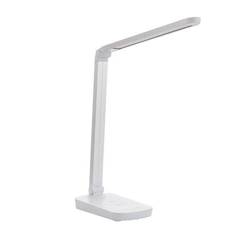 Lampe de bureau blanche, 5W, 4000°K, dimmable