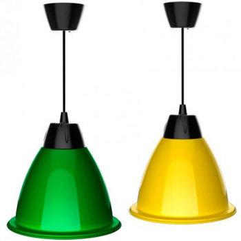 Suspension cloche LED en aluminium, 35W