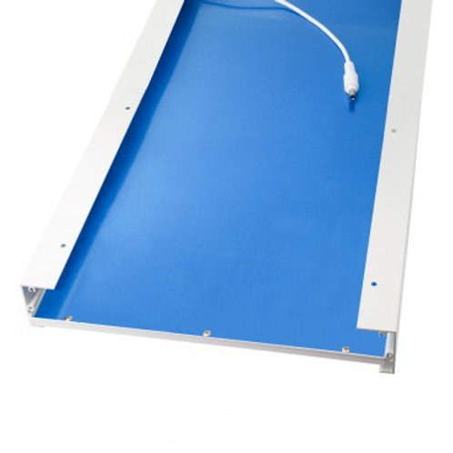 Kit d'intégration en saillie pour dalle LED 1200x300mm, finition blanc