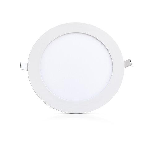 Downlight LED, cadre blanc, 18W