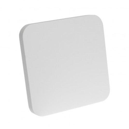 Applique murale LED carrée blanche, 5,5W