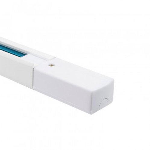 Rail monophasé blanc pour spots LED, 1000mm