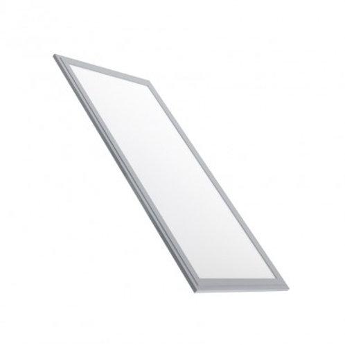 Dalle LED SMD rectangulaire cadre argenté, UGR19, 40W
