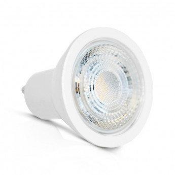 Ampoule LED GU10 angle d'ouverture 80°, 5W, dimmable