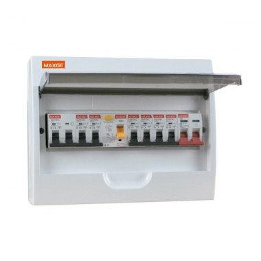 Tableau électrique en saillie IP20, 12 modules DIN