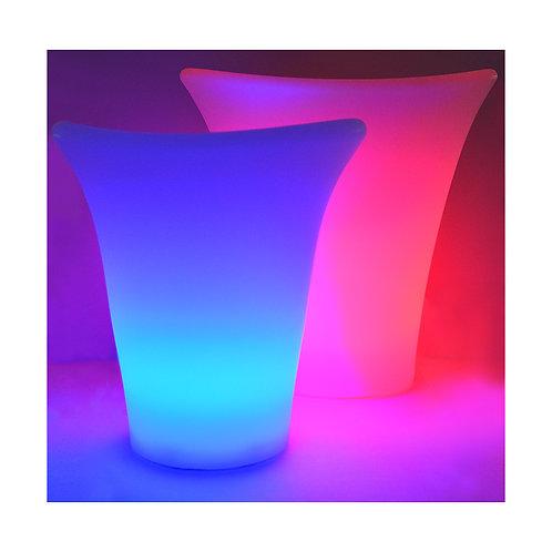Petit seau à glace lumineux LED RGB rechargeable