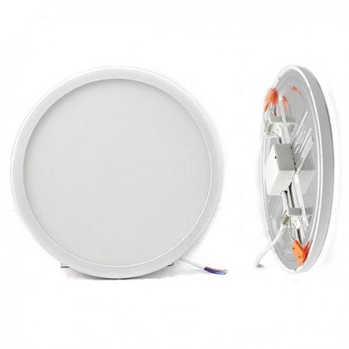 Downlight LED SMD cadre blanc, 20W, découpe réglable