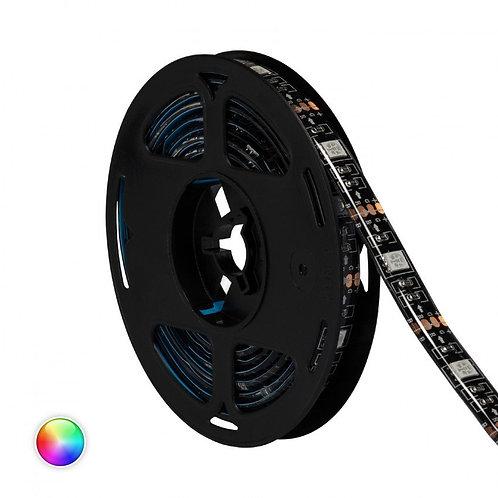 Kit ruban LED SMD5050, 12W, 5V DC, IP65, RGB, pour téléviseur