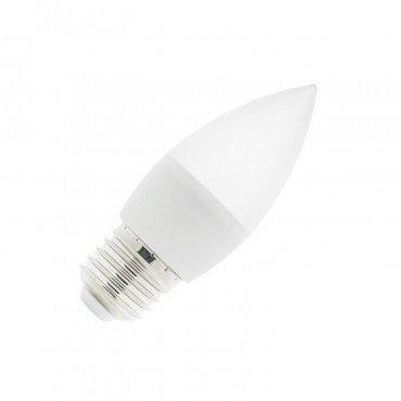 Ampoule LED E27 C37, flamme, 5W