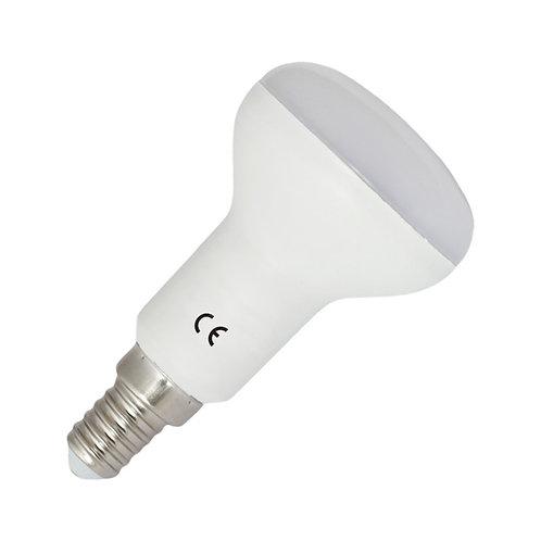 Ampoule LED E14 R50, dépolie, 5W