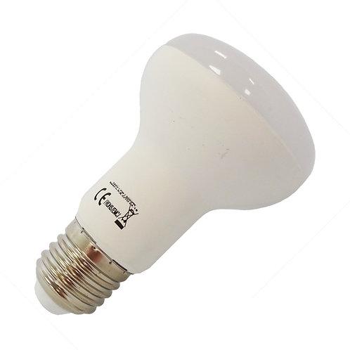 Ampoule LED E27 R63, dépolie, 7W