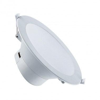 Spot LED, cadre blanc, 20W