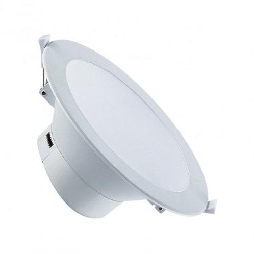 Spot LED rond spécial salle de bain, étanche, 20W