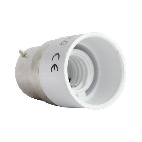 Adaptateur de culot B22 pour ampoule E14