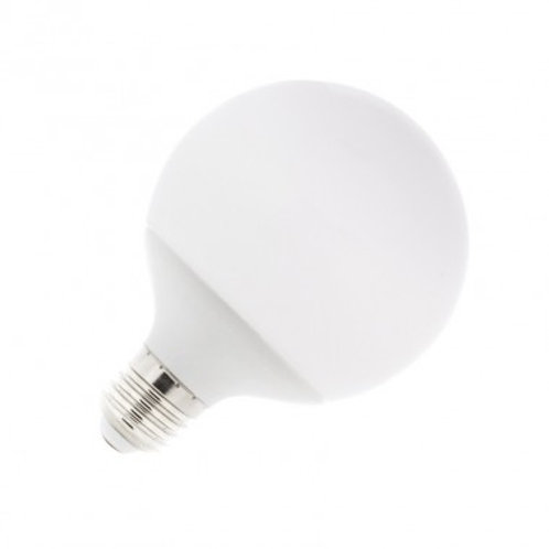 Ampoule LED E27, globe dépolie, 8W