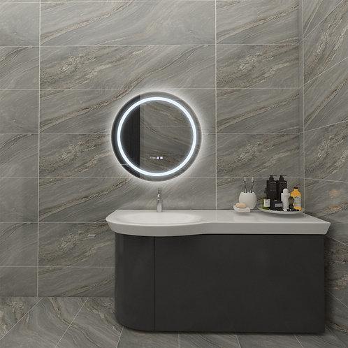 Miroir LED, 26W, anti-buée, tactile, sélectionnable