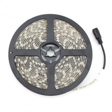 Ruban LED SMD5050, 48W, 12V DC, IP20, dimmable