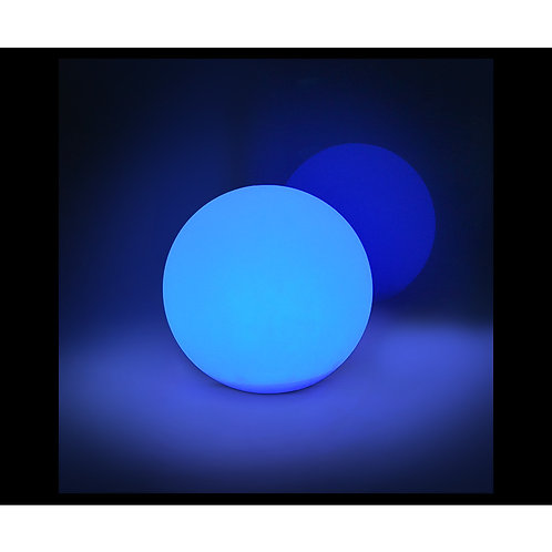 Lampe boule lumineuse LED RGB solaire