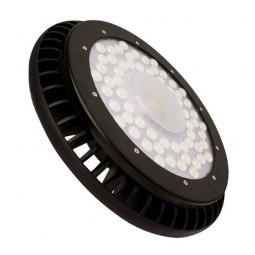 Cloche UFO LED Driverless noire, IP65, 200W