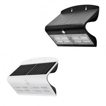Applique LED solaire, 6,8W, IP65, avec détecteur