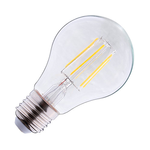 Ampoule LED COB E27, bulbe filament, 6W, 4000°K