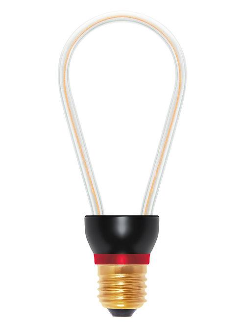 Ampoule LED courbe rustique, 8W