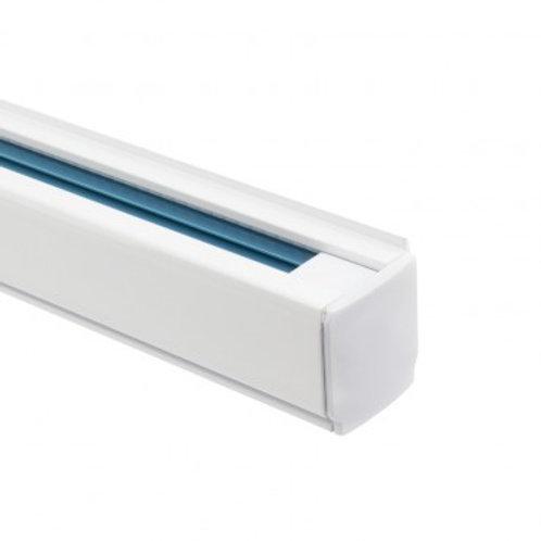 Rail triphasé blanc pour spots LED, 1000mm