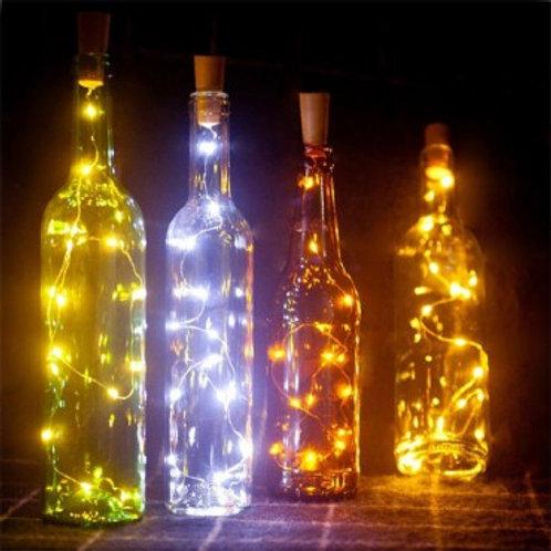 Guirlande LED pour bouteille, IP44