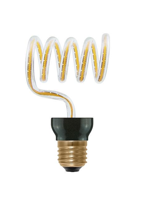 Ampoule LED E27, courbe croix en boucle, 12W, dimmable