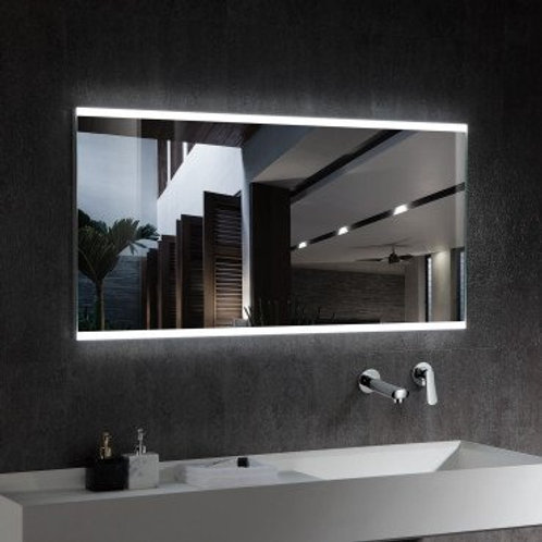 Miroir LED SMD2835 rectangulaire, 100W