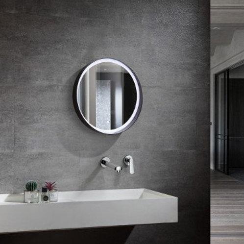 Miroir LED SMD2835 rond, 30W, température de couleur sélectionnable, anti-buée