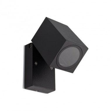 Applique LED rectangulaire extérieure cadre noir