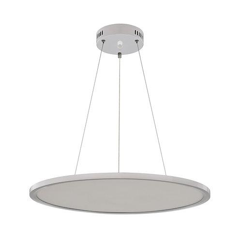 Lampe suspendue en aluminium blanc, 36W