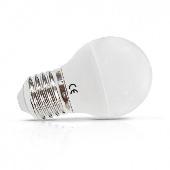 Ampoule LED E27 G45, bulbe, 6W, dimmable