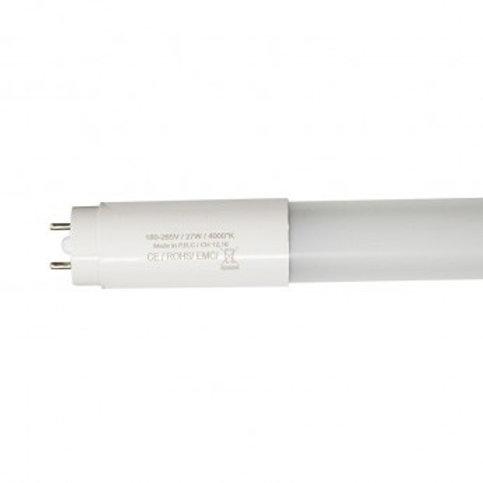 Tube LED T8, long. 1500mm, 27W, ballast électronique