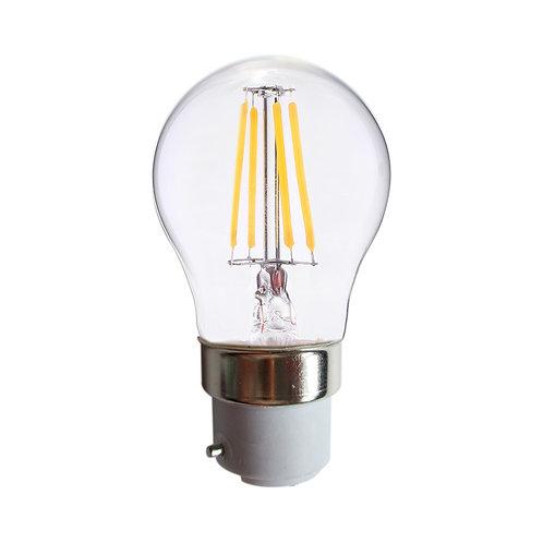 Ampoule LED B22 G45, bulbe filament, 4W