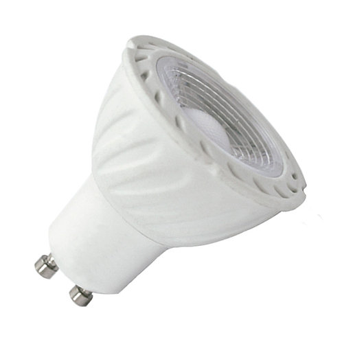 Ampoule LED COB GU10 angle 80°, 5W, dimmable