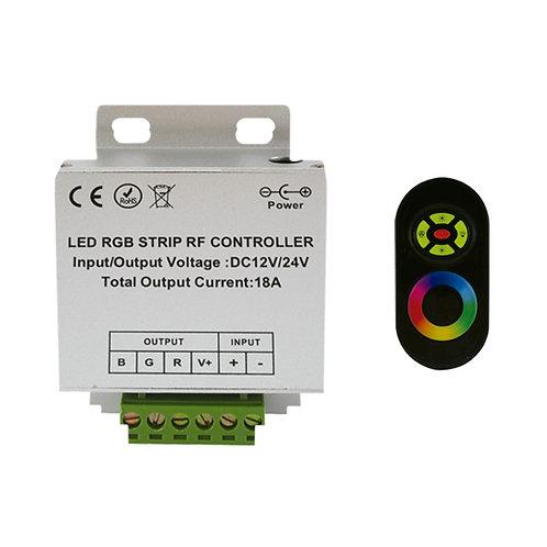 Contrôleur pour ruban LED RGB,  216W, 12-24V DC