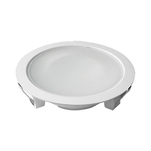 Downlight LED, cadre blanc, 28W