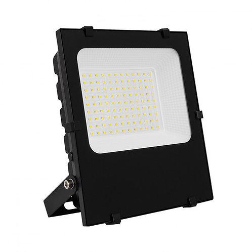 LED Philips extérieur, cadre noir, 200W, IP65, dimmable