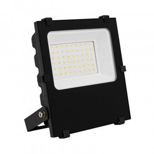 Projecteur LED extérieur cadre noir, 50W, dimmable, UGR22