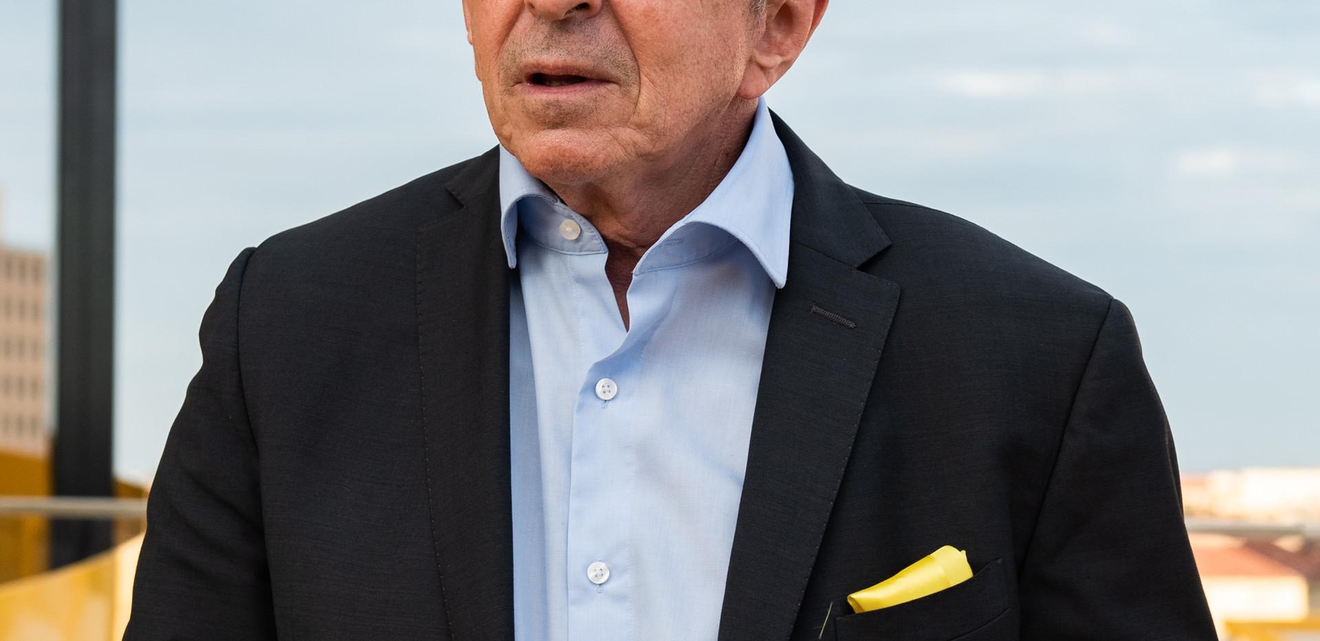 Gérard Collomb Parc Les Halles LPA