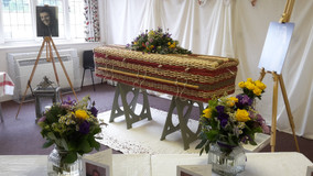 Holly's Funerals, Village Hall Funeral