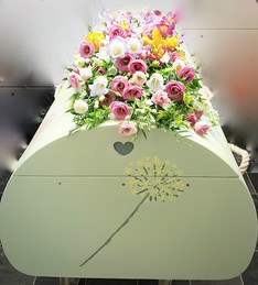Holly's Funerals Bespoke coffin